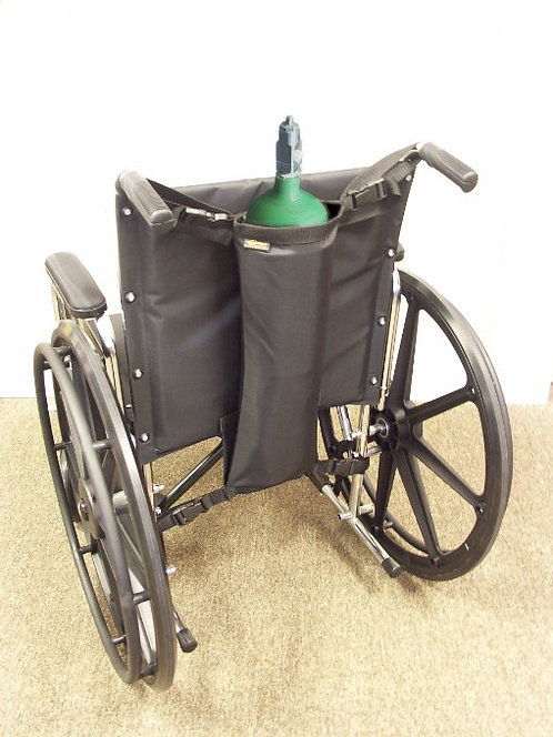 Wheelchair Single Oxygen tank holder D or E Size