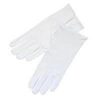 Cotton Dermal Gloves, pair