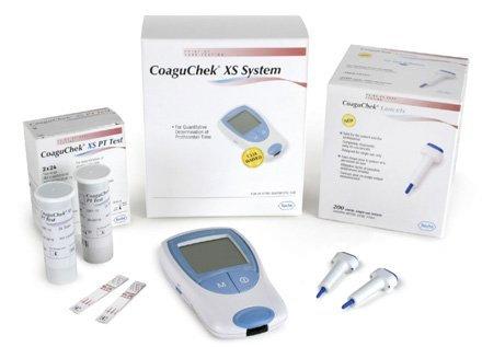 Roche PT/INR Monitor, KIT (Monitor, Strips, Lancet