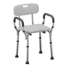 Shower Chair with Arms & Back