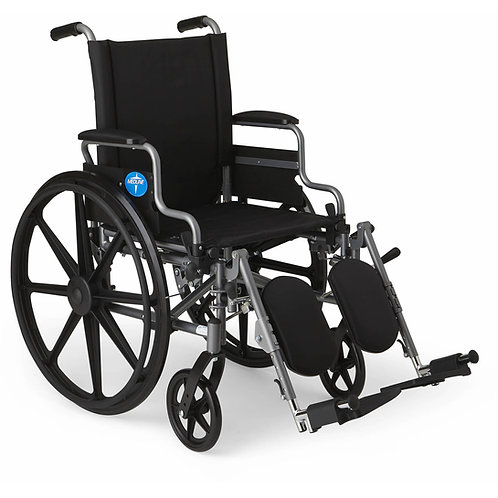 "Medline K4 Lightweight Extra-Wide 20"" Wheelchair"
