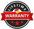 Lifetime labor warranty