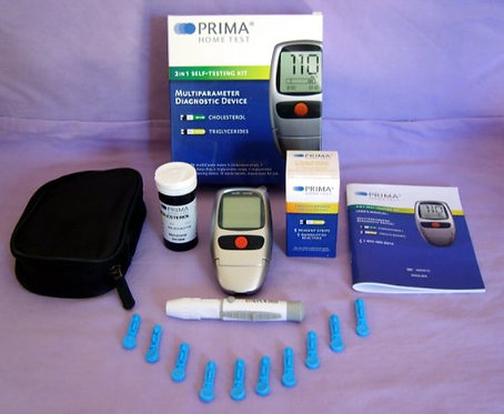 Cholesterol and Triglycerides Test/Meter Kit