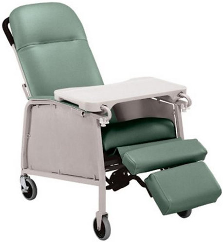 3 Position Geri Chair Recliner, 250 lbs capacity