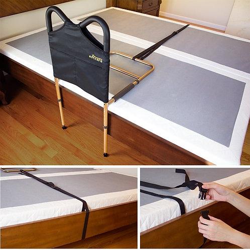 Adjustable Safety Bedside Rail with strap