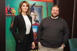 Paola Cortellesi e Stefano Fresi