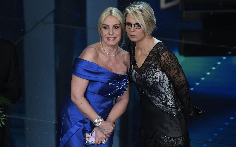 Antonella Clerici & Maria DeFilippi