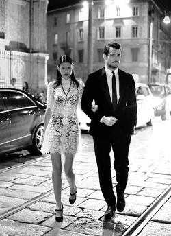 Bianca Balti, David Gandy