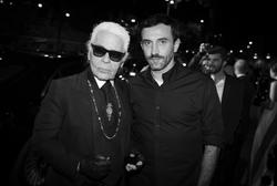 Karl Lagerfeld, Riccardo Tisci
