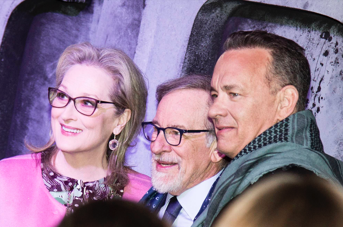 M.Streep, S.Spielberg, T.Hanks