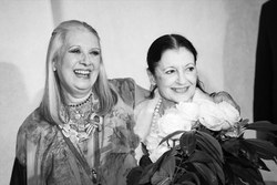 Laura Biagiotti, Carla Fracci
