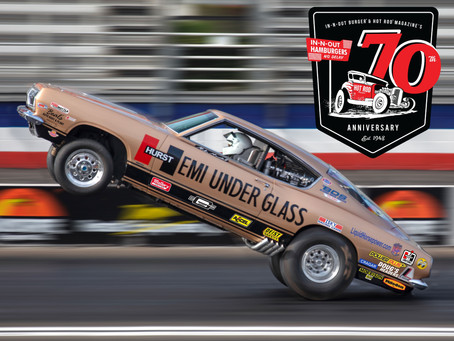 Hemi Under Glass Makes Incredible Pass At Hot Rod Magazine's 70th Anniversary