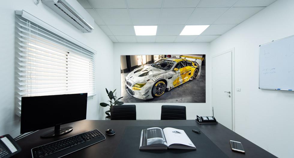 """תכנון ועיצוב משרדי חברת """"Dunlop"""""""