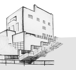 Muller House - Drawing