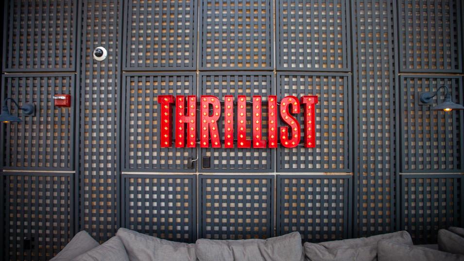 Thrillist Signage