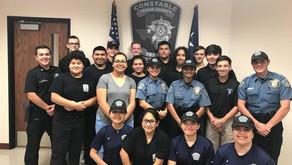 Law Enforcement Explorers Receive Crime Prevention Proficiency Certificates