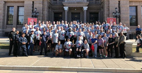 PCT. 2 Participates In the Law Enforcement Torch Run Benefiting Special Olympics Texas