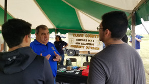 Pct. 2 Participates In Pflugerville Chamber Of Commerce Expo