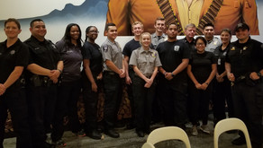Law Enforcement Explorer Post 711 Receive Promotions and Awards