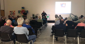 Constable Ballesteros Speaks At NWACA Town Hall Meeting