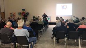Constable Ballesteros Speaks At NWACA Town Hall Meeting