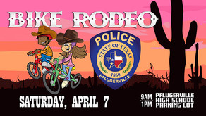 Pct. 2 Set To Help Out With Pflugerville Bike Rodeo