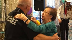Pct. 2 Deputies Cut A Rug At Brookdale Senior Living Spring Dance