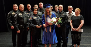 Pct. 2 Attends Cpl. Kevin Aigner's Daughters Graduations