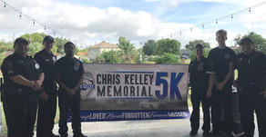 Deputies and Explorers Participate In Chris Kelley Memorial 5K