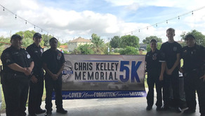 Deputies and Explorers Participate In Chris Kelley Memorial 5K