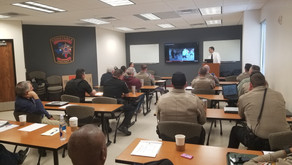 Vehicle Crimes Training For Law Enforcement Officers Held At Pct. 2