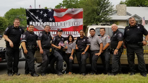 Constable Adan Ballesteros and Pct. 2 Celebrate Independence Day