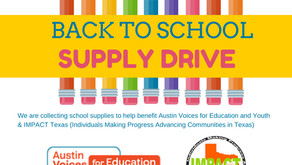 Pct. 2 Commits to Our Community With Back to School Drive