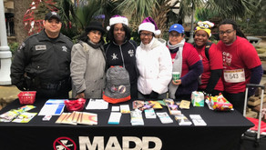 Pct. 2 Supports M.A.D.D. At The Austin Jingle Bell 5K
