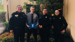 Pct. 2 Explorer Graduates From Austin Police Department Explorer Academy