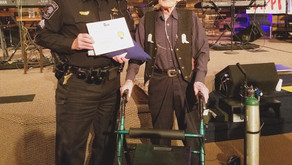 Flag Presentation for Bexar County Officer on 100th Birthday