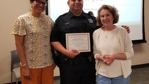 Travis County Underage Drinking Prevention Task Force Present Award