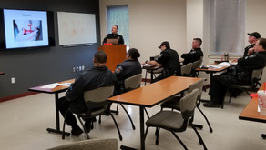 Officers receive training on tourniquets and first aid