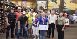 Pct. 2 Partners With Special Olympics Texas And Cavender's For Torch Run