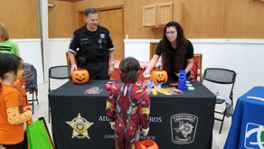 Pct. 2 Spends Halloween At The Halloween Pfood Drive In Pflugerville