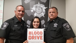 10th Annual Constable Blood Drive Blood Drive A Success