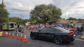 Constable Deputies Attend The First Community National Night Out For NWACA