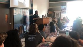 Pct. 2 Deputy Provides Internet Safety Presentation to Charter School