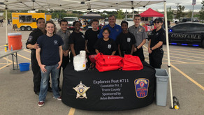 Constable Deputies Attend National Night Out Kickoff Event at Pflugerville Public Safety Day