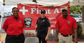 Travis County Constable Pct. 2 Attend  St. Elizabeth's Annual Fiesta