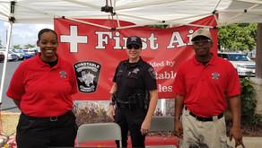 Travis County Constable Pct. 2 Attend  St. Elizabeth's Annual Fiesta