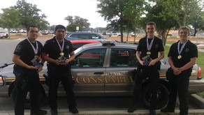 Constable Pct. 2 Law Enforcement Explorer Post 711 Win 1st Place in First Competition of The Year