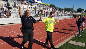 Constable Adan Ballesteros Honored To Help Carry The Torch At The Special Olympics Spring Games
