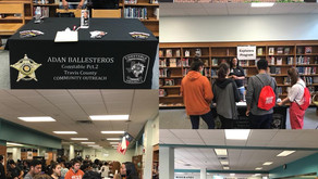Pct. 2 Visits Lanier High School for Career Day