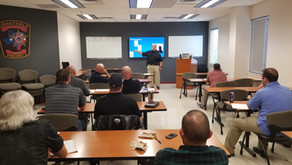 Deescalation Training Course Given At Pct. 2